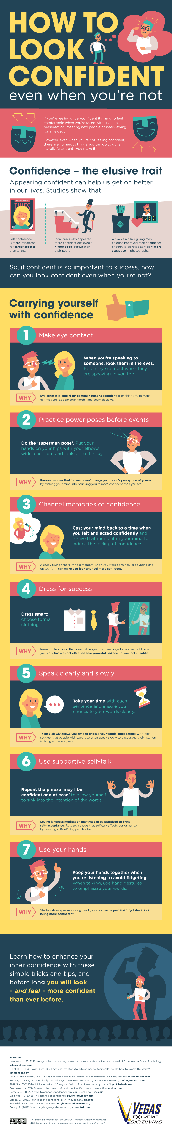 How to Look Confident!